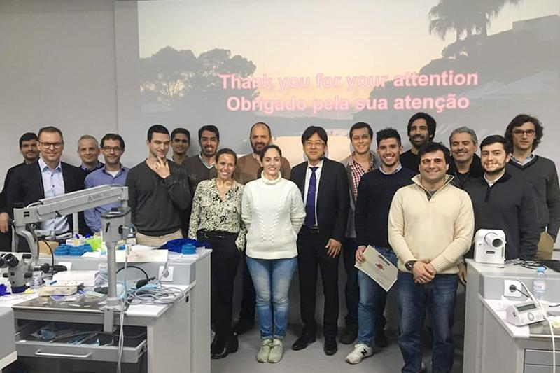 ポルトガルのEgas Moniz大学・歯学部大学院